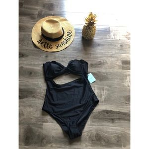 CupShe Black One Piece